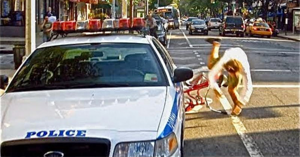 NYPD Tickets The Wrong Guy – Check Out His Awesome Response – VIDEO
