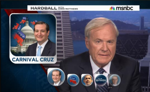 Chris Matthews Slams Ted Cruz, Calling him a Child 'Whining' over 'Cookies'