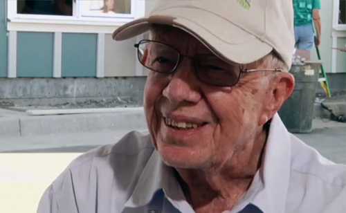 Jimmy Carter: Middle Class Today Resembles The Past's Poor (Video)