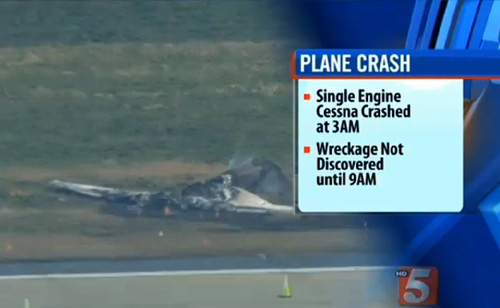 Plane Crashes – No One Notices For About 6 Hours