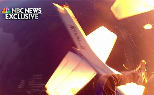 'Surreal': Video of Skydivers' Plane Crash