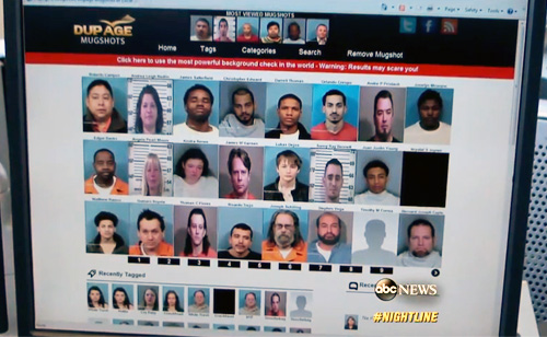Busted! Mug Shot Websites Feeling the Heat