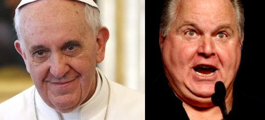 Catholics Take Aim At Rush Limbaugh For Comments About Pope (VIDEO)