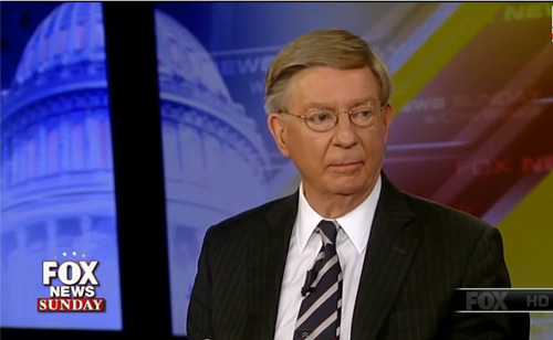 Fox News Contributor George Will Slams The Clintons