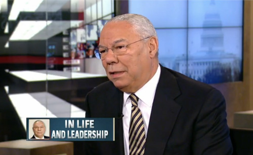 Colin Powell On Immigration, Intolerance & Voting Restrictions (Are We Sure He's A Republican?)