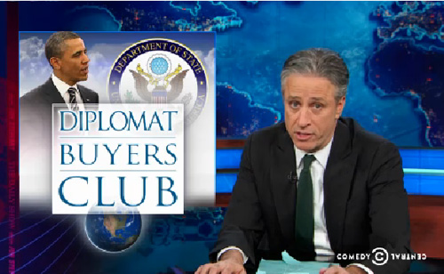 Jon Stewart: On Ambassadors And Sending Sean Hannity To Russia