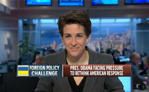 Rachel Maddow: Bush Decision To Enter Iraq Defines Obama's Foreign Policy (VIDEO)