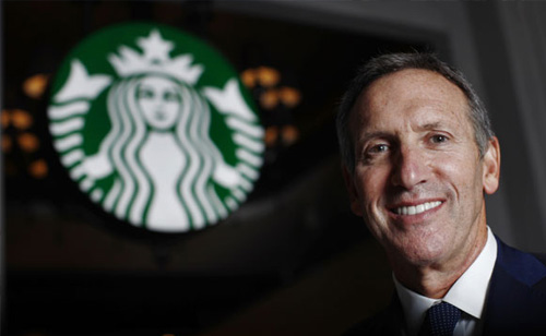 Starbucks CEO To Give $30 Million To Help Veterans (VIDEO)