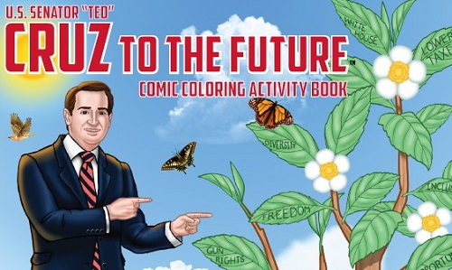 You've Gotta Read The Comments In Ted Cruz's Coloring Book