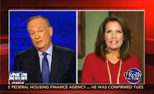 Michele Bachmann's Stupidity Baffles O'Reilly (VIDEO)