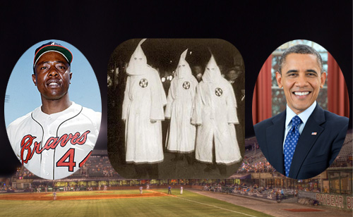 Hank Aaron On Obama Critics: 'Back then they had hoods. Now they have neckties and starched shirts'