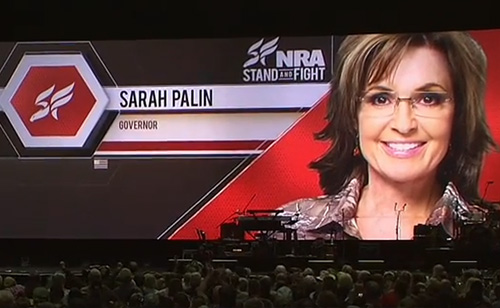 Sarah Palin: 'Waterboarding is how we baptize terrorists' (VIDEO)