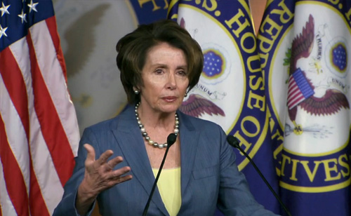 Pelosi Says Race a Factor With GOP on Immigration Bill (VIDEO)