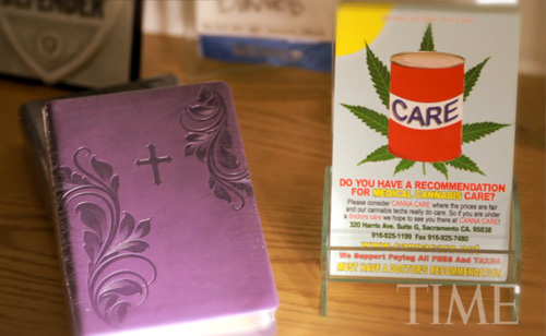 What Would Jesus Toke? Marijuana-Infused Lollipops, Bibles And The IRS (VIDEO)
