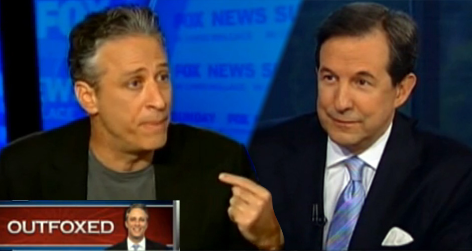 Watch One Of The Greatest Prize Fights In TV History As Jon Stewart Takes Down Chris Wallace