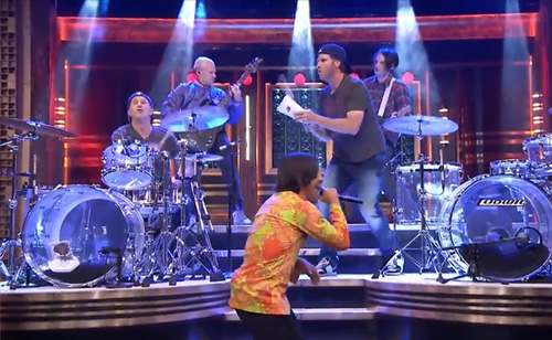 Will Ferrell and Chad Smith Drum-Off: The Tonight Show Starring Jimmy Fallon (VIDEO)