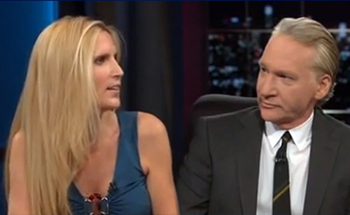 Ann Coulter gets OWNED by Bill Maher – FLASHBACK FRIDAY