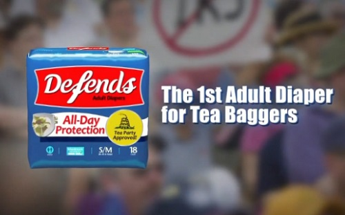 Bill Maher: 'Defends – The Only Diaper For The Tea Party Movement' (VIDEO)