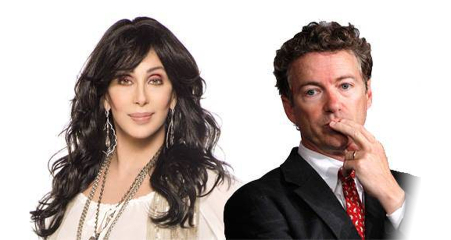 The Time Cher Attacked Rand Paul, Calling Him A Liar And A Racist