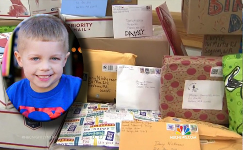 Boy Fighting Inoperable Tumor Gets Birthday Wish: Lots of Mail