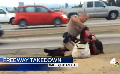 Defenseless Woman Viciously Beaten By Cop On Video