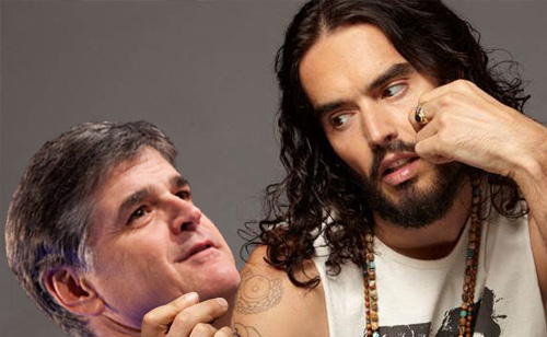 Russell Brand Slams Sean Hannity Calling Him A 'Terrorist' VIDEO