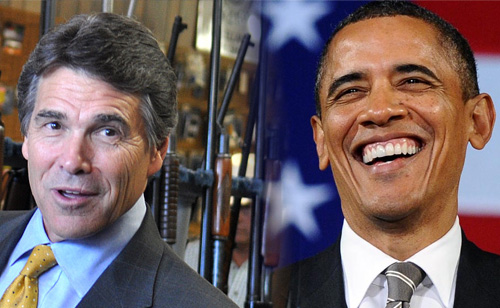 A Showdown In Texas As Rick Perry Snubs Obama