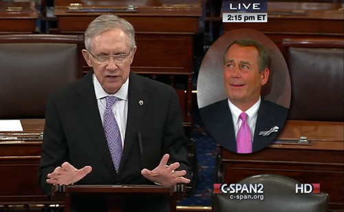 Harry Reid's Epic Smackdown: Republican Lawsuit 'A Sham To Appease Tea Party Radicals' (VIDEO)