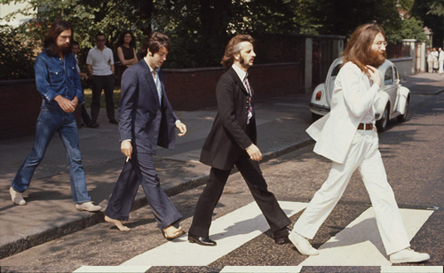 The Beatles Crossed 'Abbey Road' Into History 45 Years Ago (PHOTOS)
