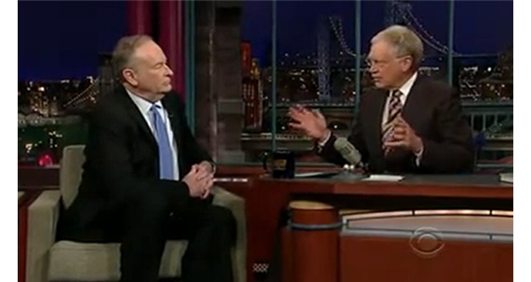That Time David Letterman Called Bill O'Reilly A 'Goon' – Video