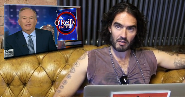 Russell Brand Shreds Bill O'Reilly's Argument That 'White Privilege Is Just An Excuse For Black People'
