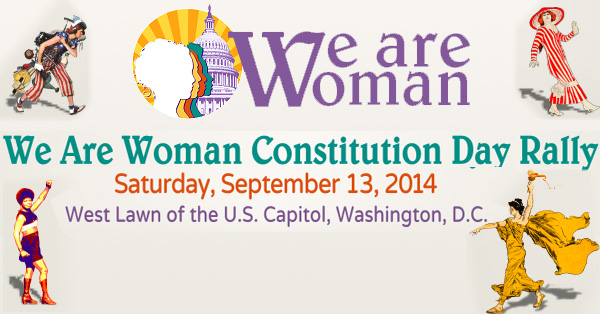 We Are Woman: Constitution Day Rally For Equality 2014