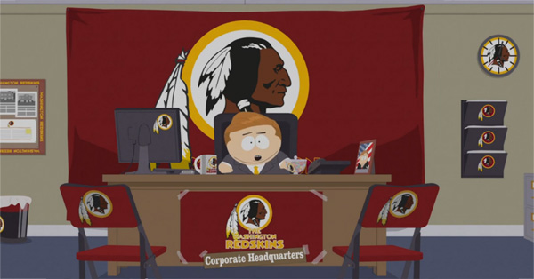 'South Park' Tackles Washington Redskins Name Controversy – VIDEO