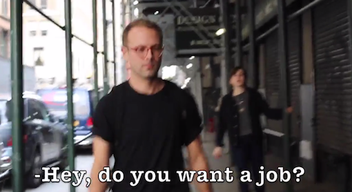 Hilarious: 10 Hours Of Walking In NYC As A Guy