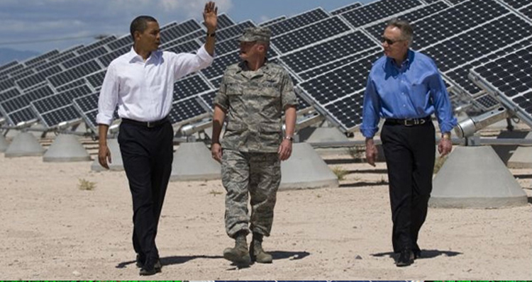 Obama Launches Solar Energy Job Program For 50,000 Veterans