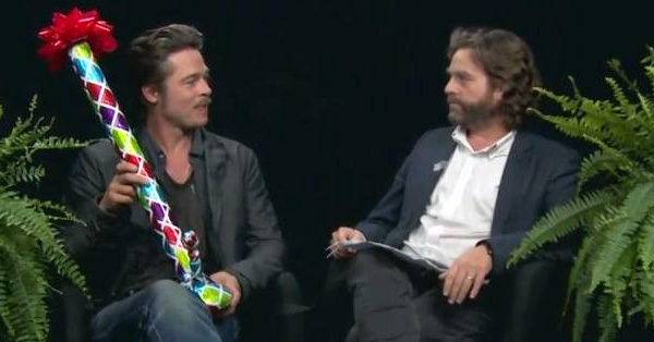 Watch Brad Pitt's Interview With Zach Galifianakis – Guaranteed To Make You Laugh