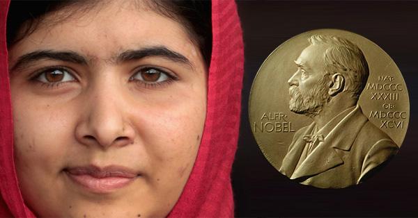 BREAKING: Heroic Teen Activist Malala Shares Nobel Prize (VIDEO)