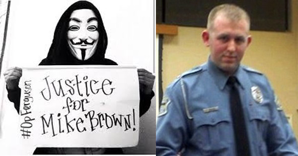 Anonymous Claims Darren Wilson Will NOT Be Indicted For Mike Brown Killing