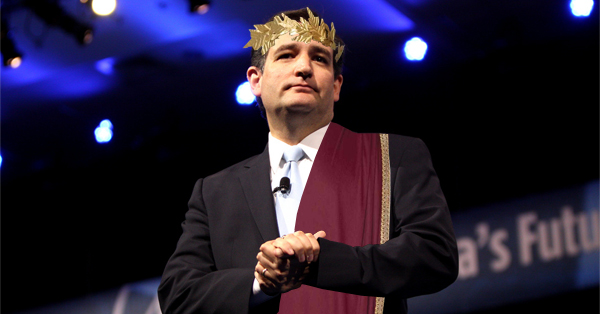 Ted Cruz Lies To The American People, Vows To Seize Power