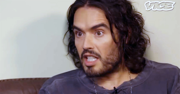 Russell Brand On Revolution And A World Of Less Work And More Play