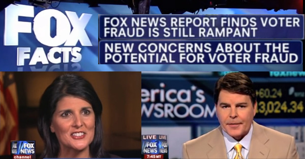 Fox News Contributes To Voter Fraud And Suppression Through Their Relentless Lies And Deceit – VIDEO