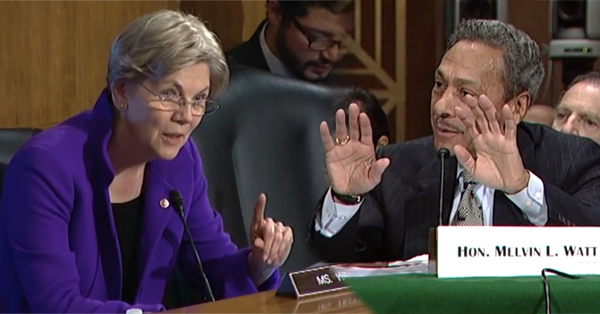 Elizabeth Warren Blasts Federal Housing Financy Agency Director – 'You Haven't Helped a Single Family'