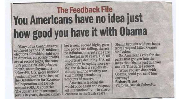 You Americans Have No Idea' - An Open Letter From Canada And
