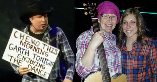 Woman With Cancer Made Garth Brooks Stop Concert And Cry – VIDEO