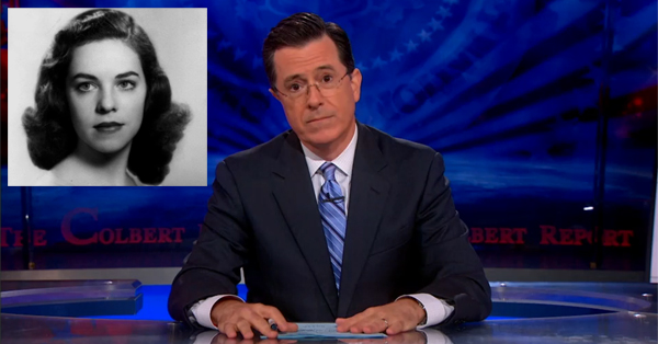 Stephen Colbert's Most Memorable Monologue – VIDEO