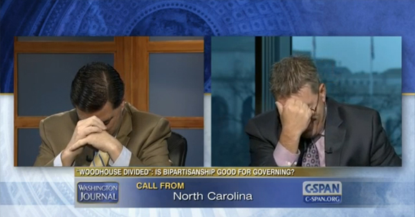 Mom Calls C-Span To Yell At Sons – VIDEO