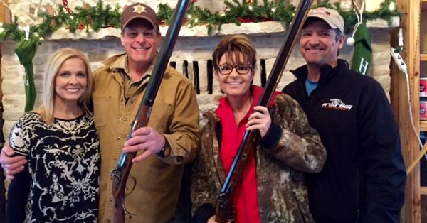 100s Of Conservative Fans Call For Nugent/Palin 2016 Ticket On Facebook