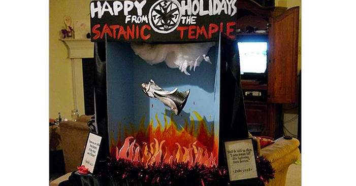 Holiday Satanic Display Approved By Florida Capitol – VIDEO