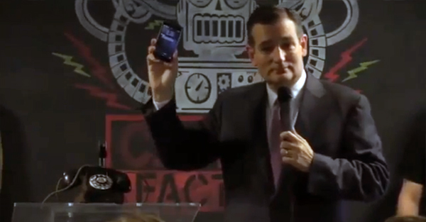 Ted Cruz Makes A Fool Of Himself, Again!
