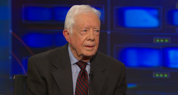Jimmy Carter To Jon Stewart: The 'Palestinian Problem' is 'Part Of' The Terrorist Problem – VIDEO